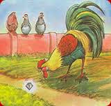 El Gallo y la Joya con moraleja de Esopo