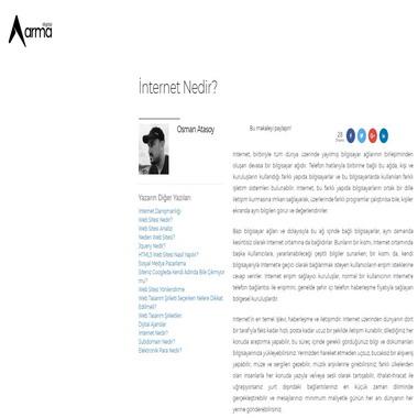 armadigital net - internet nedir