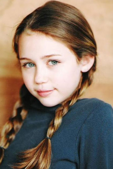 miley cyrus mini biography and childhood pictures