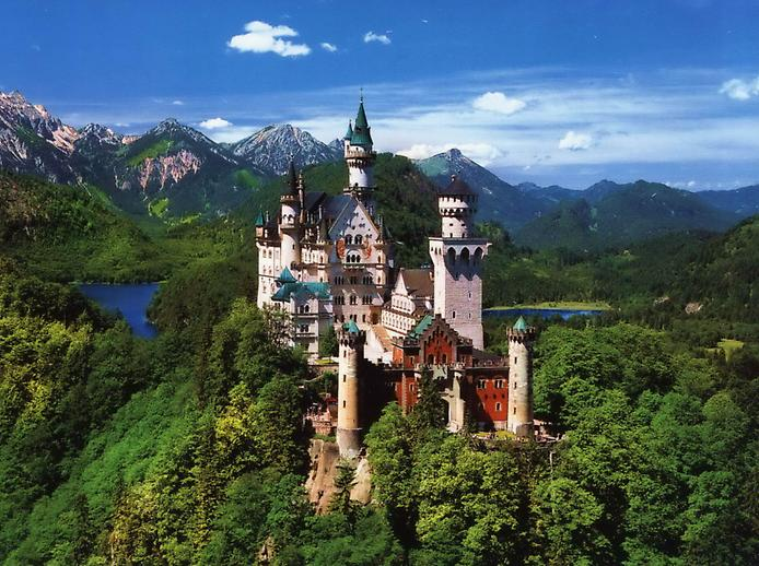 Neuschwanstein Castle Germany The World 39 S Foremost Tourist Attraction Beautiful Places On