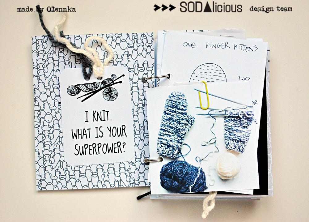 Knitting Journal Ideas : Olennka i knitting journal