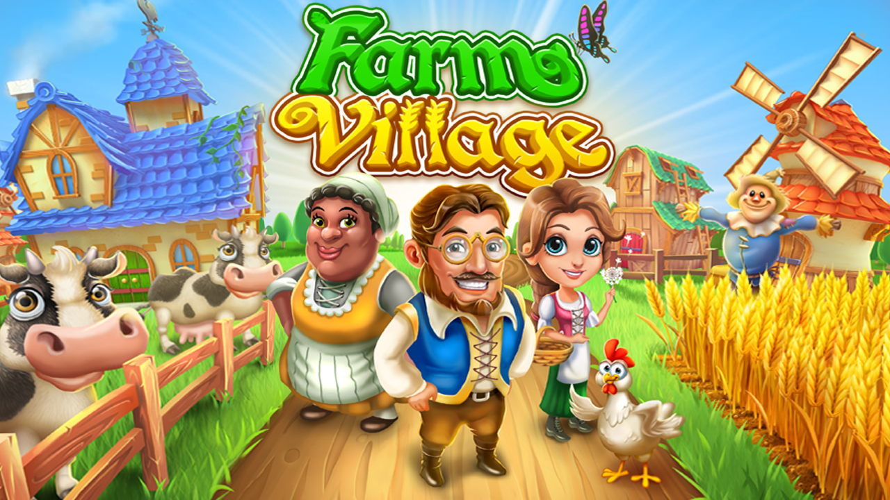 Farm Village Gameplay IOS / Android