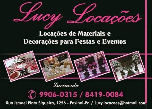 Lucy Locações - Faxinal