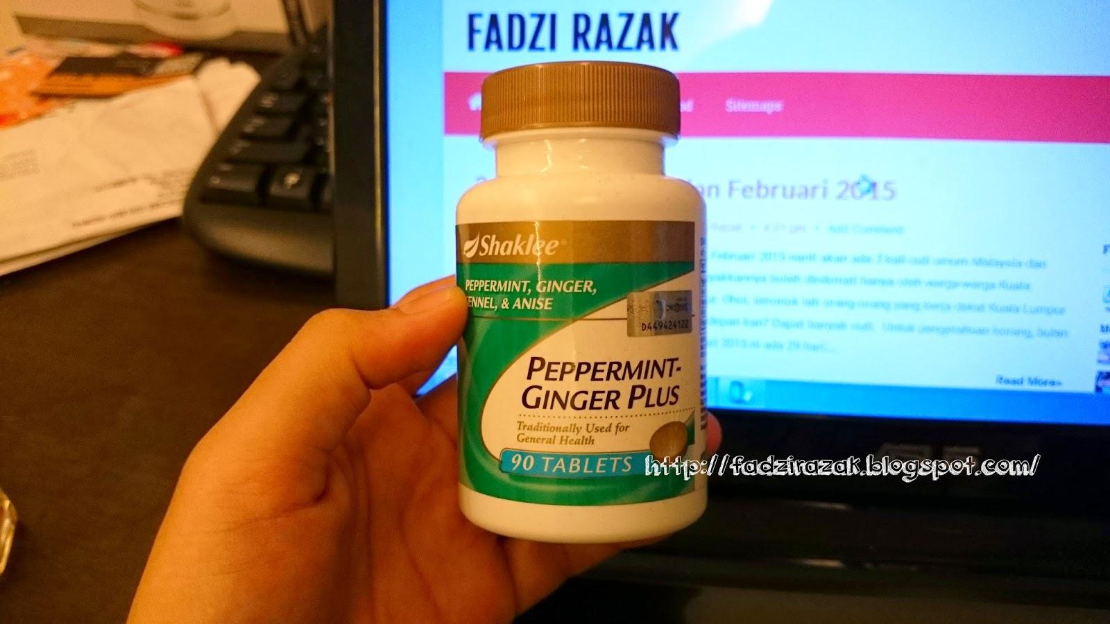 Peppermint Ginger Plus Shaklee