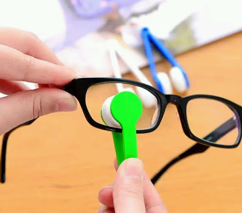 Limpador de óculos prático e portátil