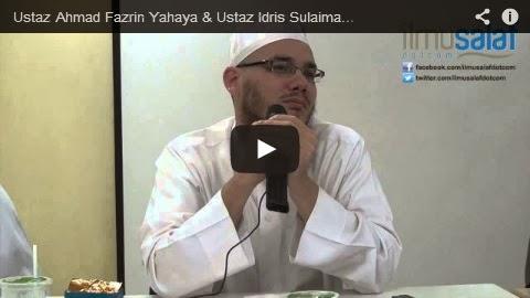 "Ustaz Ahmad Fazrin Yahaya & Ustaz Idris Sulaiman – Masih Wujudkah ""Habib"" Keturunan Rasulullah?"