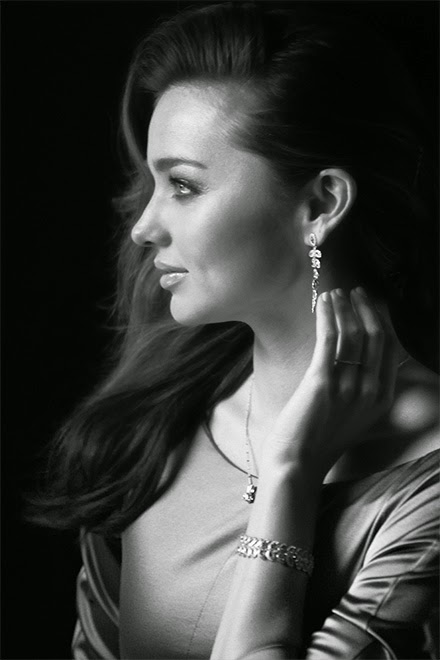 Miranda Kerr stars for the Swarovski Perfect Gift Holiday 2014 Campaign