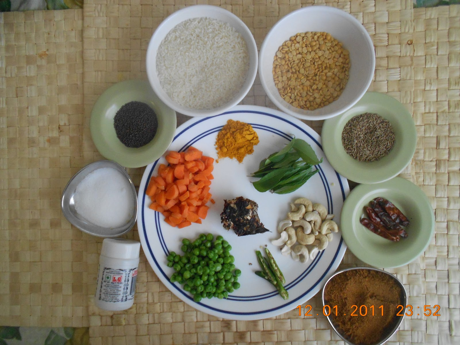 how to prepare menthya bath in kannada language