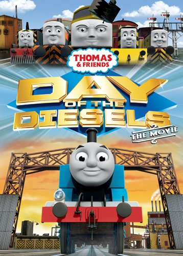 Day of the Diesels Thomas  Friends cover