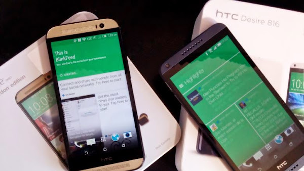 HTC One M8 vs. HTC Desire 816