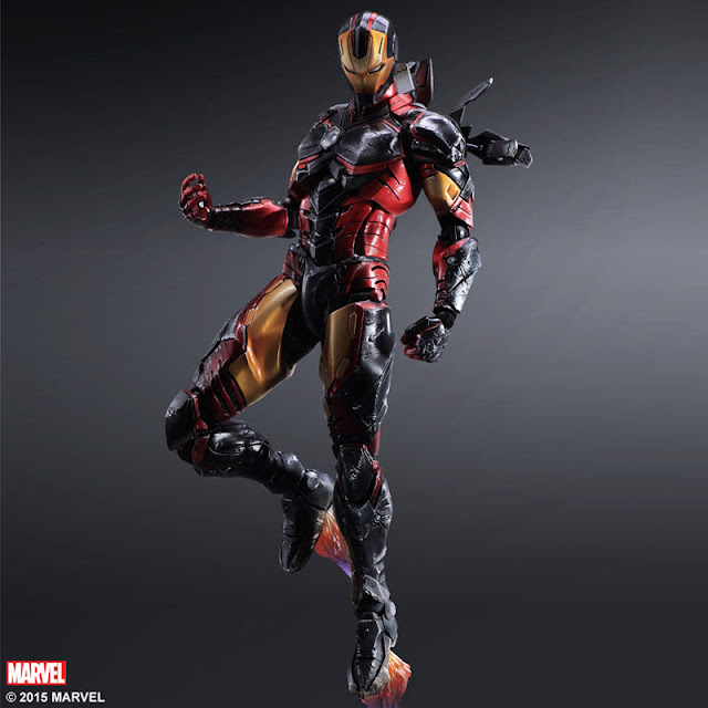 marvel cinematic universe play arts iron man