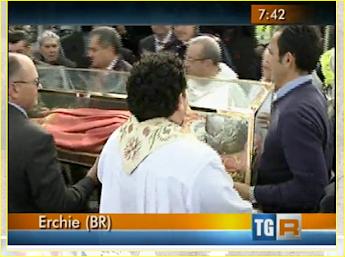 Riprese di TGR-Puglia  del 24.4.14