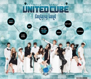 United Cube (4Minute, BEAST, G.Na) – Fly So High