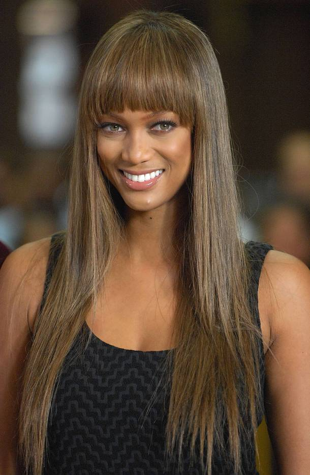 Tyra Banks Hairstyle Trends: September 2012