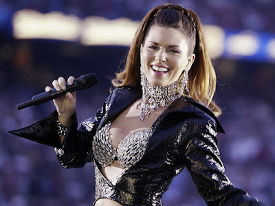 Sexy Pop Star Shania Twain
