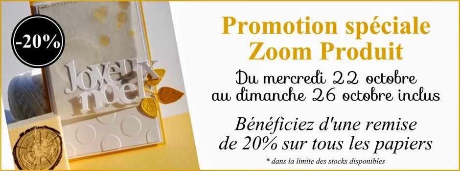 Promotion Zoom papiers