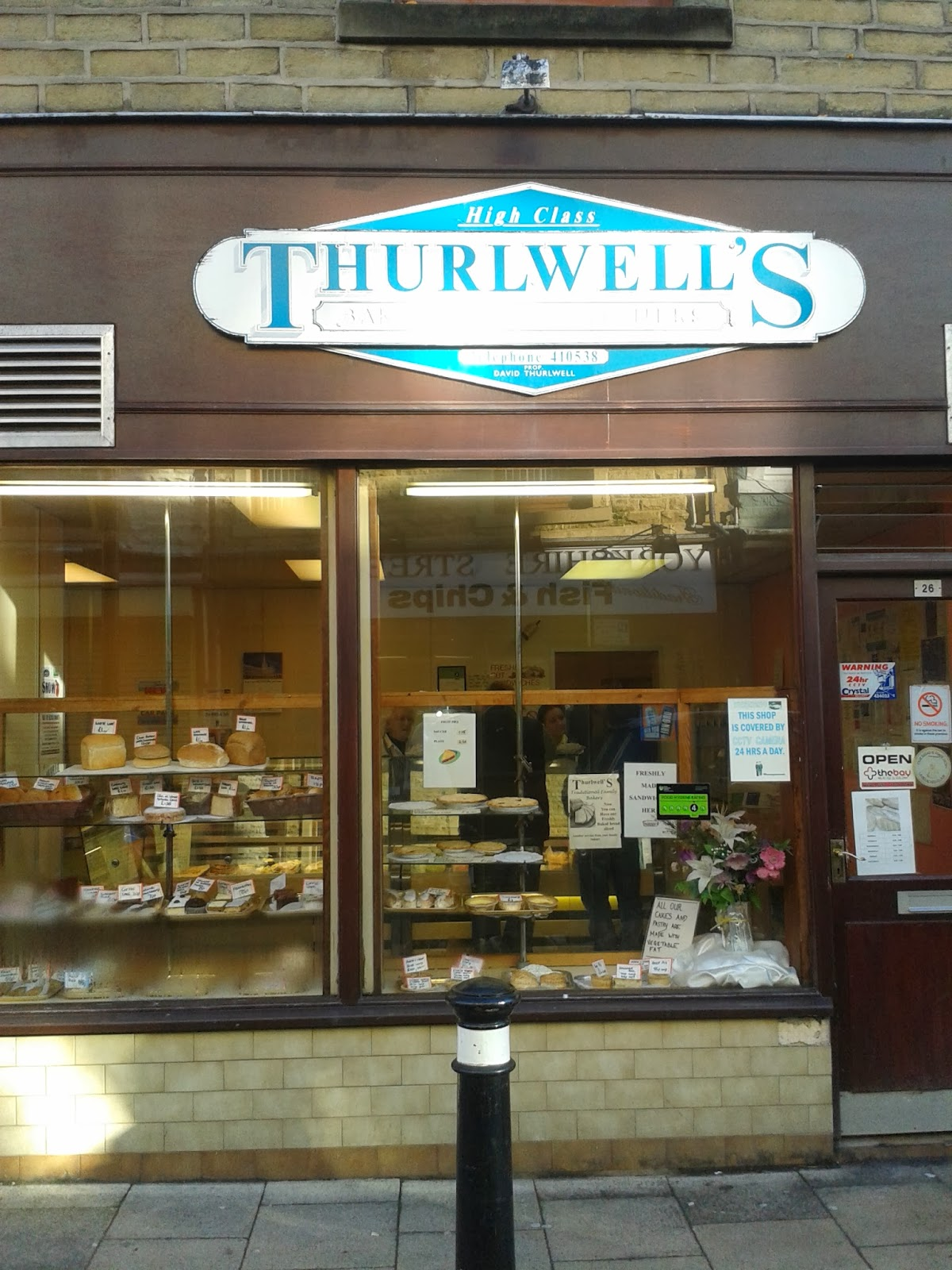 Thurlwell's Bakery Morecambe Pie Review