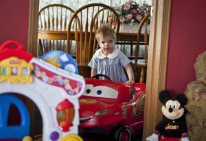 Birthday bonanza for sick toddler