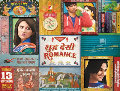 Shuddh Desi Romance Poster Wallpapers Stills Bollywoodkhabri
