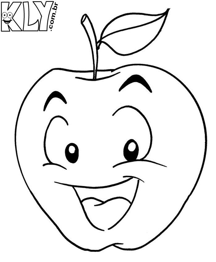 maçã desenhos para colorir desenhos para colorir