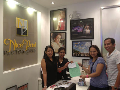 Walk-in Clients at Nice Print Photography Studio - SM Megamall