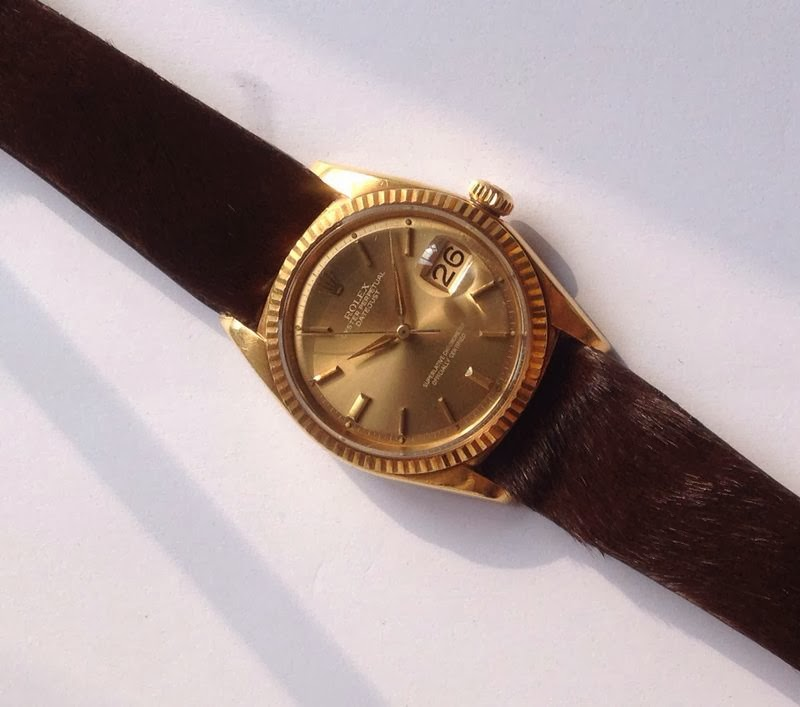 Rolex Date Just 1960, Similar as Backham's