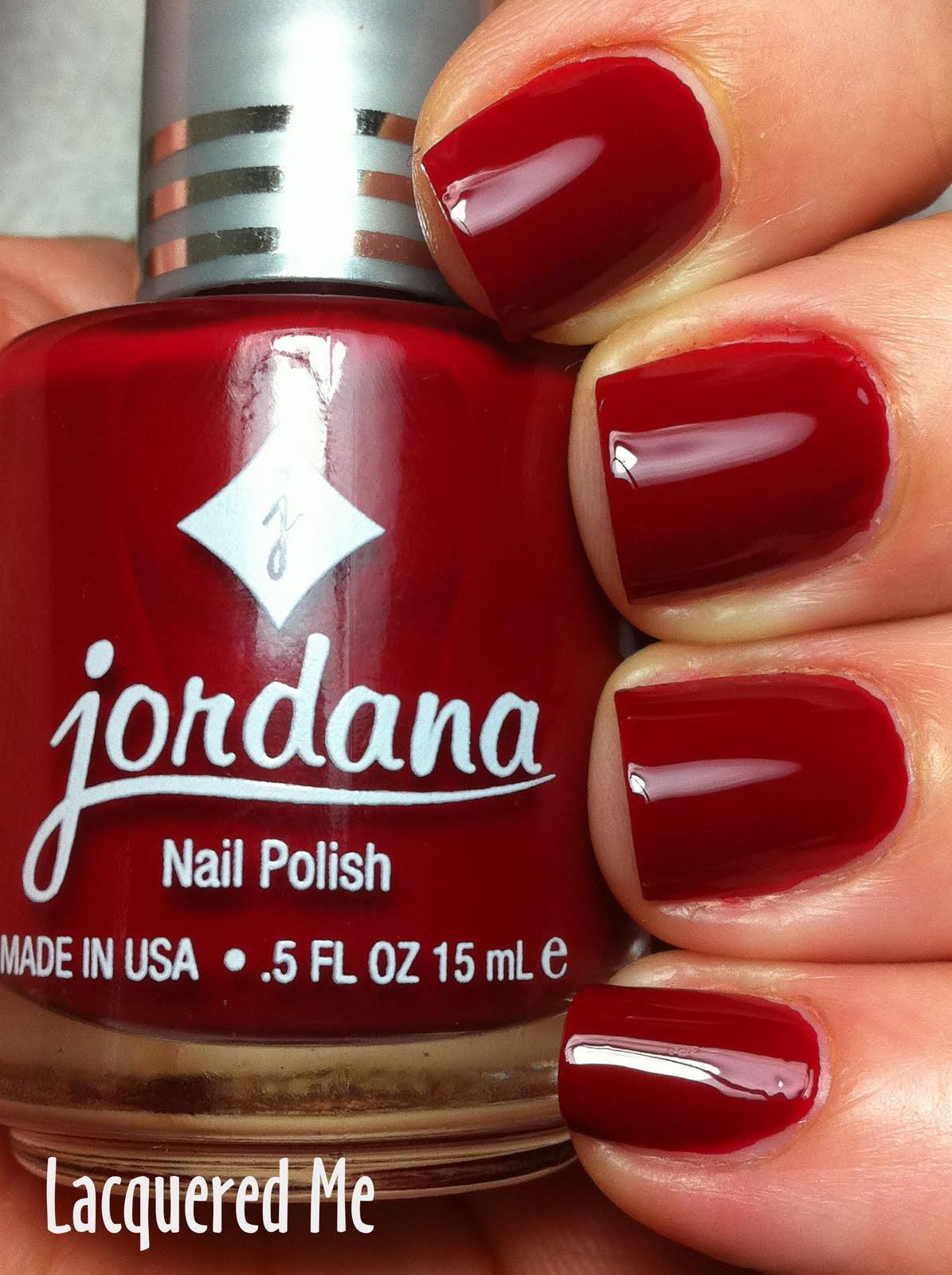 Lacquered Me: Jordana Nail Polish