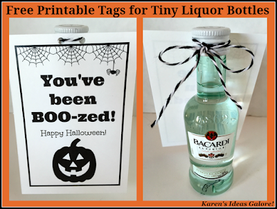 You've been BOO-zed (with Free Printable)