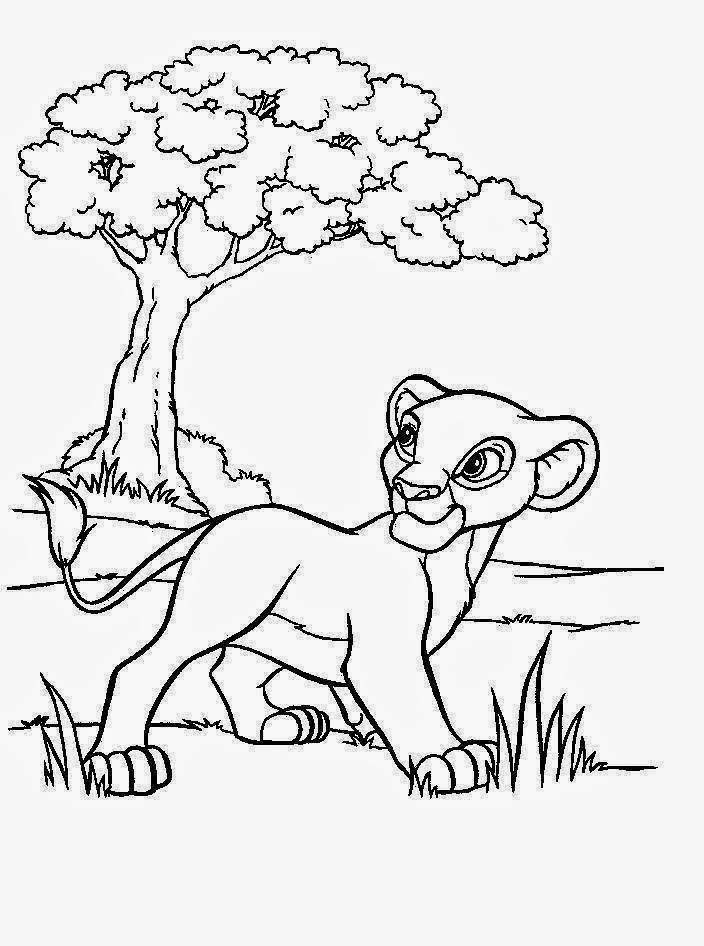 Disney coloring pages coloring.filminspector.com The Lion King
