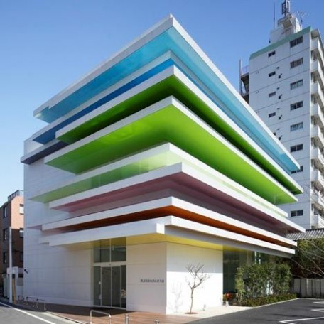 Bank design ideas with color special architectur nice for Architecture originale maison