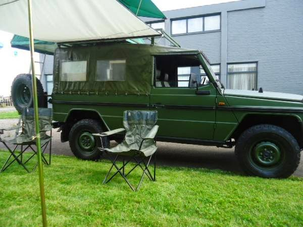 Used rvs 1986 mercedes benz g class with camping equipment for Used mercedes benz rv for sale