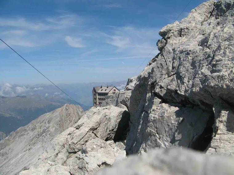 Punta tabaretta Rifugio Payer