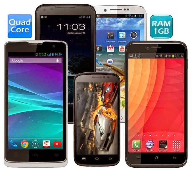 HP Android Dengan Harga 1 Jutaan