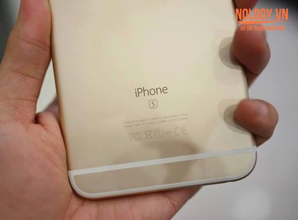 """Chữ """"S"""" trên Iphone 6s xách tay"""