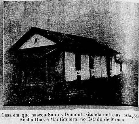 CASA DE ALBERTO SANTOS DUMONT