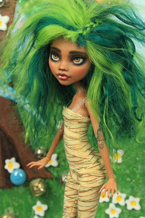 ООАК Школа Монстров эксклюзивная кукла