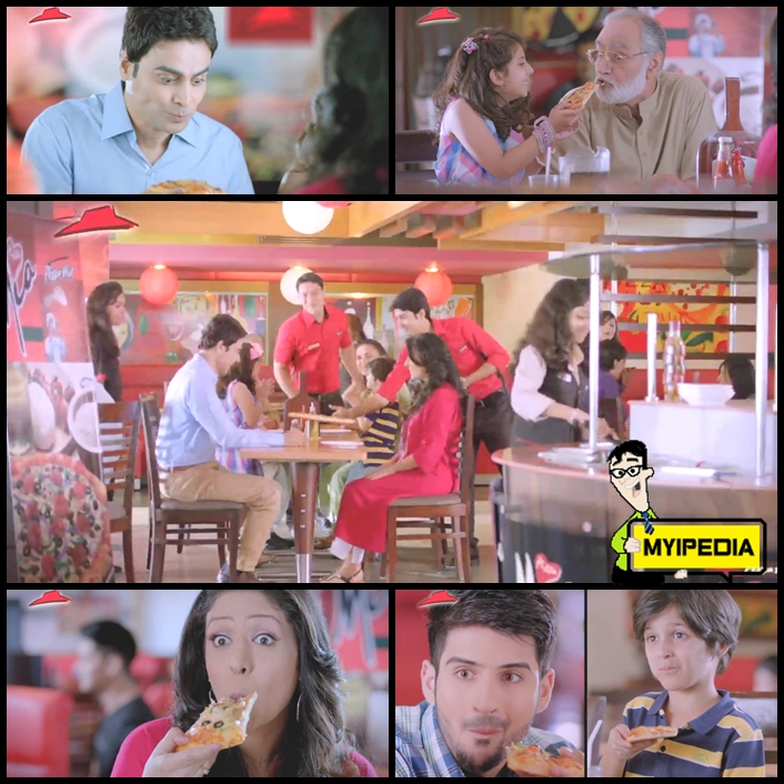 pizza hut piza mia tvc 2013