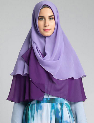 Hijab Modern Simple Terbaru 2015