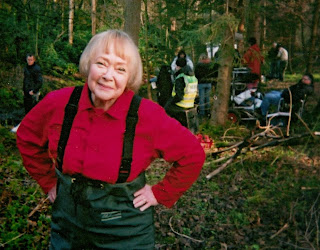 Daphne Neville in the BBC vet series 'The Chase'