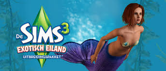 how to become a mermaid on sims 3 island paradise