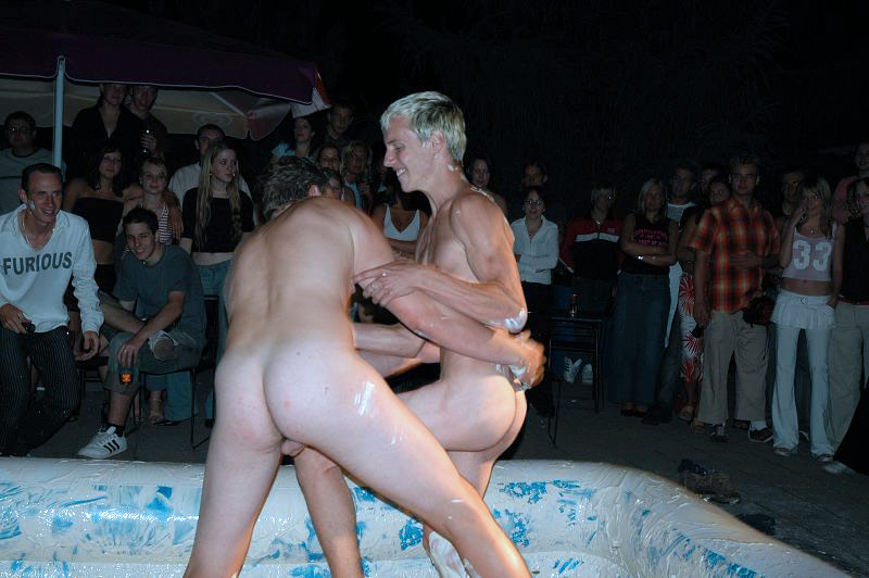 girl boy nude wrestling