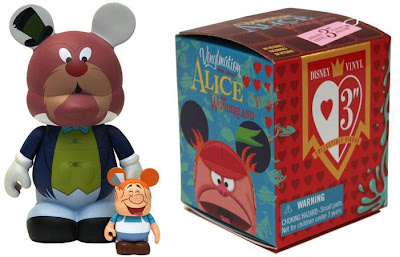 Disney Vinylmation Alice in Wonderland Series - The Walrus and the Carpenter & Blind Box Packaging