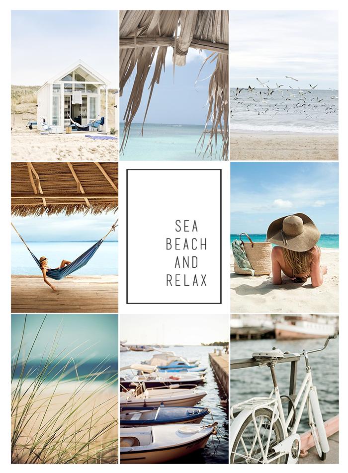 inspiracje wakacjami moodboard