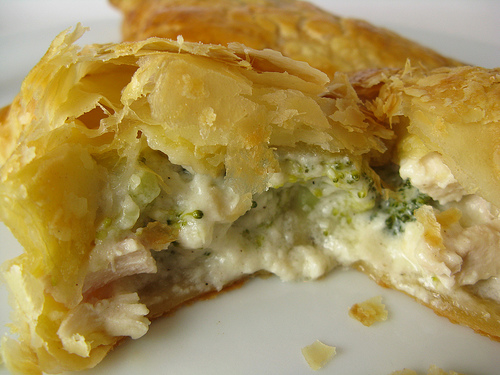 Tierney Tavern: Creamy Chicken Broccoli Pie Pockets