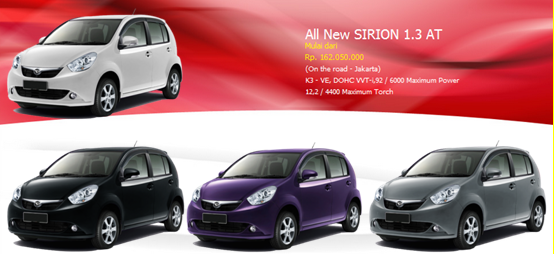 All New SIRION 1.3 AT