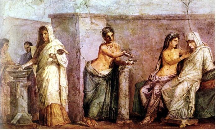 Matrimonio Epoca Romana : Historia del arte romano
