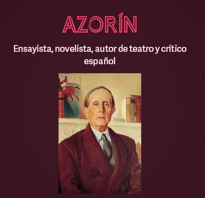 Conociendo autores de la literatura española