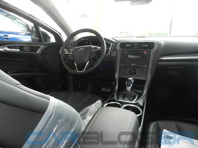 Novo Fusion 2013 - interior