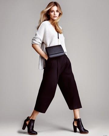pantalones de moda H&M primavera verano 2015 Culottes