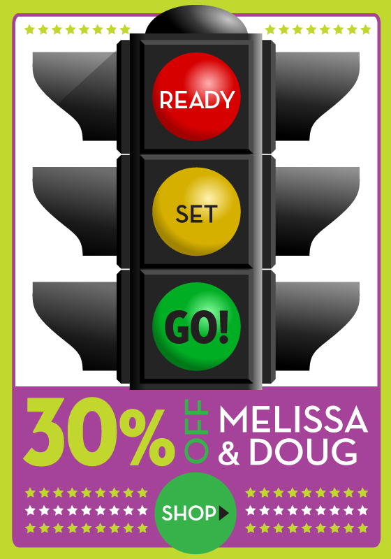 Ready, Set Go Sale on Melissa and Doug Puzzles